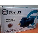 Motor Electrico.monof. 3hp/2900w Indut Japón.2 Condensadores