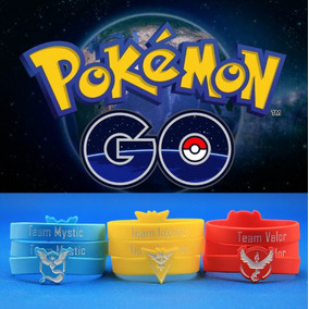 Pulseras De Los Equipos Pokemon Go Personalizadas Del Color