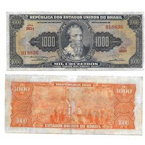 Nnn057 Cédula Mil Cruzeiros C050* De 1955