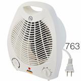 Ventilador De Mesa 2 En 1 Calefactor Aire Calor Frio 763