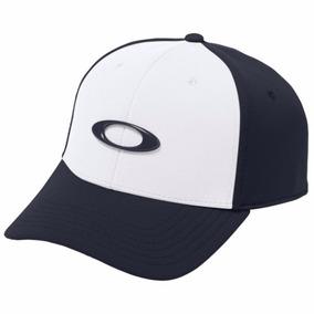 Bone Oakley Tincan Oval ( Branco Com Azul S m ) 008c6f29145