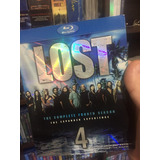 Blu-ray Lost 4ª Temporada Importado Com Luva