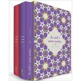 Box Livros As Mil E Uma Noites- 2 Volumes Lacrado