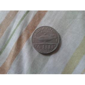 Moeda 400 Réis Oswaldo Cruz De 1938