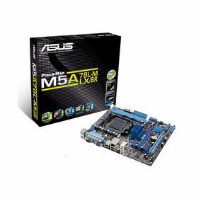 Placa Mãe Asus Socket Am3+ M5a78l-m Lx/br Phenom/athlon/fx