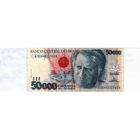 Cédula De 50000 Cinquenta Mil Cruzeiros-c 226