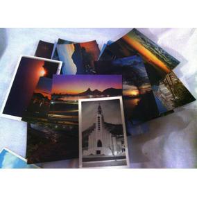 Cartões Postais Coleção Com 300 Cartões Antigos