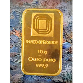 Barra Ouro Puro 1000k-10gr. 27mm