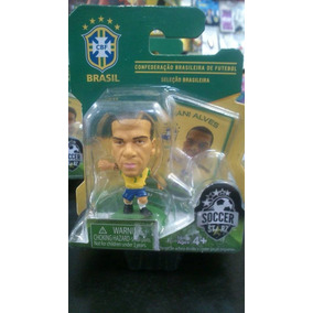 Miniatura Mini Jogador De Futebol Brasil Cbf - Dani Alves
