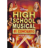 High School Musical El Concierto Acceso Total Disney Dvd