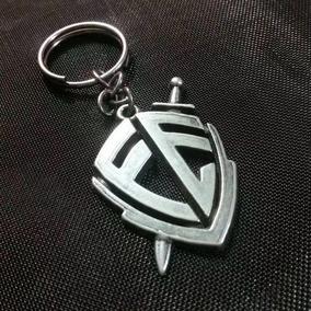 Chaveiro Metal Escudo Da Fé