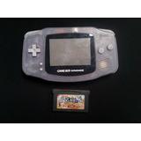 Gameboy Advance Translucido Con Un Juego D