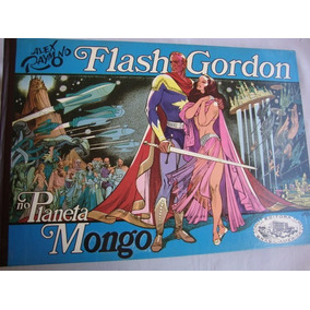 Flash Gordon No Planeta Mongo Assinada Ebal De 1973 Banca