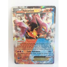 Pokemon Volcanion Ex