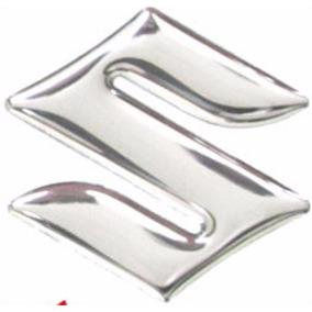 Adesivo Suzuki Resinado 02 Pçs 45 Mm Frete Carta Barato