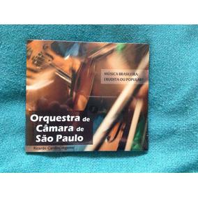 Cd Orquestra De Camara São Paulo Música Brasileira Lacrado
