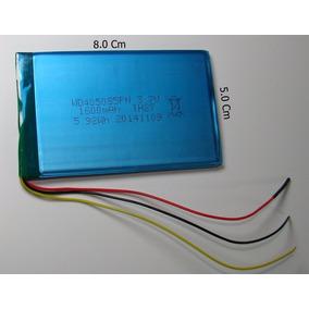 Bateria Gps 7 Polegadas 3 Fios 8 X 5 X 0,3cm 3,7v