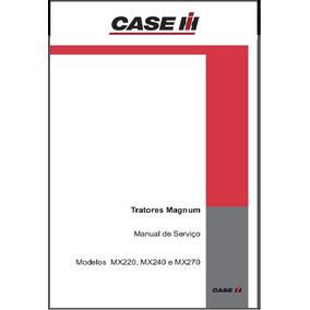 Manual Técnico De Serviço Trator Magnum Mx 220, 240 E 270