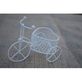 Mini Bicicleta Souvenir - Vintage Shabby Candy Jaula