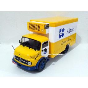 Miniatura Caminhão Kibon Mercedes 1113 1/43 Lacrado+ Revista