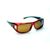 5959e7c5c1b37 Óculos Sol Pesca Polarizado Jf Sun Douai Fit Over Vermelho