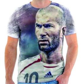 Camiseta Do Zidane Futebol França 2 40b9b151ec2c8