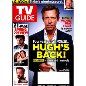 Tv Guide: Hugh Laurie / Tom Hiddleston / Melissa George