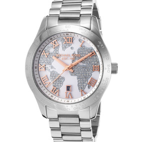 Relógio Michael Kors Mk5958 Layton Prata Importado Eua
