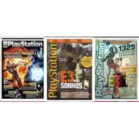 Revista Jogo - Start Playstation N° 1, 2 E 3