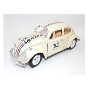 Miniatura Vw Fusca Herbie 1:18 Novo !!!