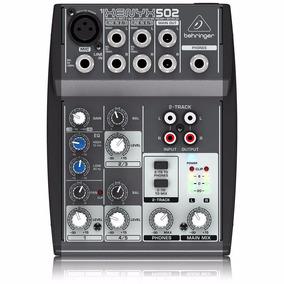 Mesa Behringer Xenyx 502 Mixer 110v Frete Grátis!