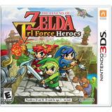 Videojuego The Legend Of Zelda Tri Force Heroes Nintendo 3ds