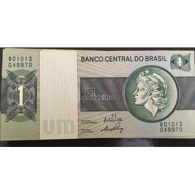 Cédula 1 (um) Cruzeiro Esfinge Verde - Ótimo Estado