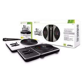 Dj Hero 2 (bundle) 2 Pickups+1 Microfone+game Xbox 360