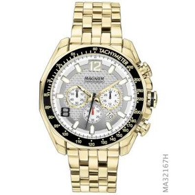19ed9a9cf89 Relógio Cronógrafo Magnum Ma33755z Esportivo Masculino - Relógios De ...