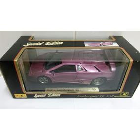 Miniatura Lamborghini Se 1995 - Maisto (desc A Vista)