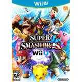 Super Smash Bros For Wii U Nuevo Sellado Fisico
