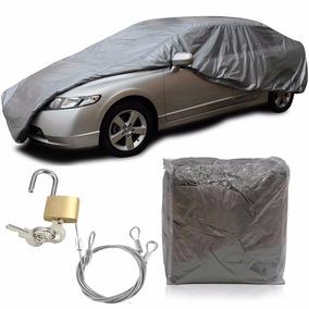 Capa Protetora Para Cobrir Carro Forrada Com Cadeado Média