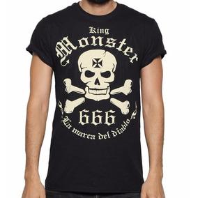 Playera Monster Logo Hombre $230