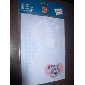 Papeis De Carta E Envelopes Mickey Disney