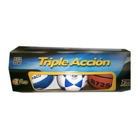 Set Triple Accion (basket,futbolito,volibol)