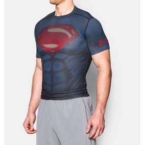 Playera Under Armour De Superman Alter Ego Compressión