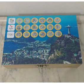 16 Saches Lacrados Moedas Das Olimpíadas - 800 Moedas