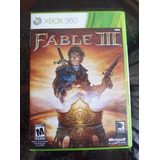 Fable Iii - Xbox 360 Perfecto Estado