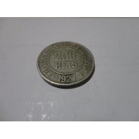 200 Réis 1927 República Dos Estsdos Unidos Do Brasil