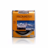 Filtro Promaster Uv Filter 52 Mm - Entrega Inmediata