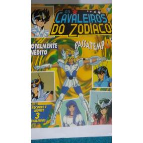 Revista Passatempos Os Cavaleiros Do Zodiaco (raro)
