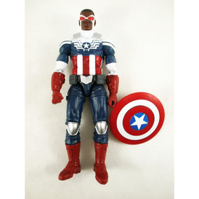 a3685257b01 4540l Marvel Legends Toys R Us Exclusivo 3 Pack Sam Wilson
