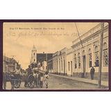 Cartão Postal-são Gabriel/rs-rua Coronel Sezefredo