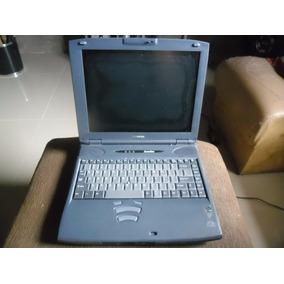 Antigo Notebook Toshiba Satélite Funcionando